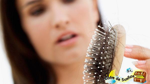 sonar que se te cae el cabello